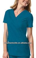 MAN-OEM fashionable medical nurse scrub suit designs nurse clothes