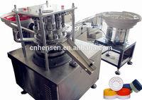 Plastic cap joint machine/ Plastic cap combine machine