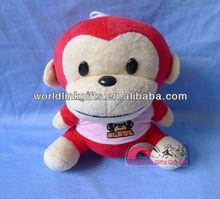 Big mouth monkey figure plush toys