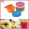 soft, eco-friendly food grade,LFGB, FDA, Factory folding silicone bowl