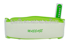 vibrating massage belt machine/electric slimming massage belt/vibration fat burning massage belt