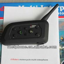 DK118-V6 Motorcycle Bluetooth Interphone/Intercom up to 1000 meter 6 riders bluetooth intercom