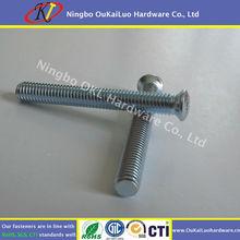 Torx Oval Head Machine Screw, Zinc Plated,RoHS standards