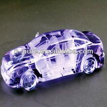 Quartz Crystal Carving of Car Model