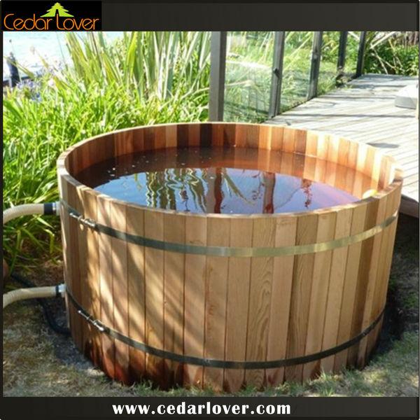 See larger image - Spa en bois exterieur ...