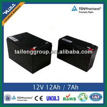 12V 12Ah Storage LiFePO4 Battery Pack