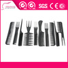 high heat resistance professional handle plastic hair comb