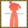PVC rain suit with bib, American style pvc rain suit supplier