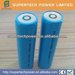 3.7v 1800mah li-ion battery for torches