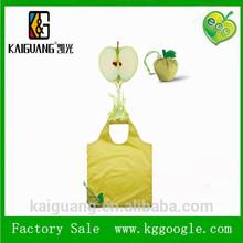 Newest nylon Fruit shopping bags foldable shopping bag with fun fruit shape