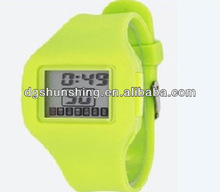 Fashional style colorful silicon watch for promotion gifts