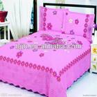 2014 fashion cotton colorful bed sheet 200cm*230cm