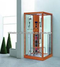 Luxury Bamboo steam shower room sauna wholesale infrared sauna K011