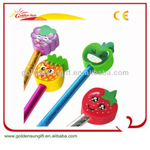 Cartoon Promotional Plastic Pen With Cap