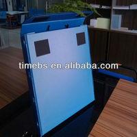 Portable coroplast file case, pp corrugated document box,corflute pp paper case
