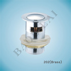 Brass Pop Up Drain Basin Waste