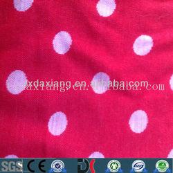 100% wool jacquard knitting fabric wholesale