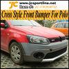 2011UP Cross Style Body Bumper Kit For Volkswagen Polo