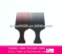 cheap afro hair comb for hair dressing/fork comb