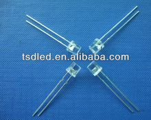 Ultra Bright Cylinder-shaped 5mm flat top led