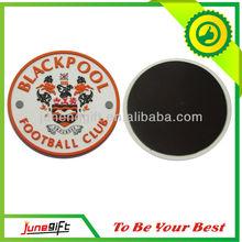 2013 high quality PVC fridge magnet, round shape PVC fridge magnet