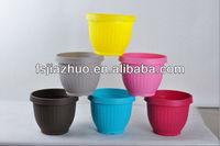 plastic flower urn
