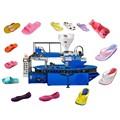 pvc uma cor de moldagem de chinelo e sandálias que faz a máquina