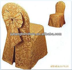 Yellow Restuarant Jacquard Chair Covers