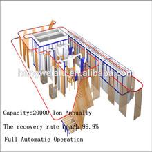 Good quality vertical powder coating line for aluminum profiles