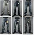 2013 pantalones vaqueros de hombres venta al por mayor jeans de moda de alta calidad jean denim pierna recta de hombres slim fit
