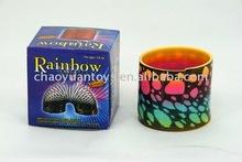 plastic rainbow spring with print stone SP24270596-12K