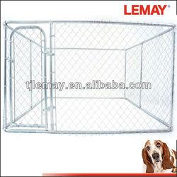 Hot Sale 10' x 10' x 6' cheap chain link dog kennels