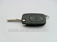 Audi A4 car (2 button) Auto flip remote key