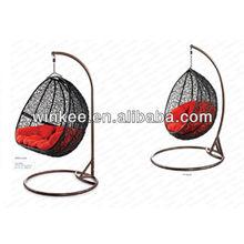 outdoor gardern furniture rattan hanging seat