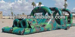 giant inflatable obstacle in China, military obstalce course