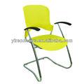 Apoyabrazos barato exterior sillas de plástico / silla de comedor muebles para el hogar