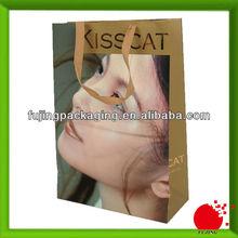 Photographic printed gift shopping bag