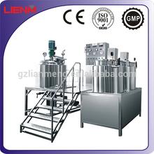 Electric or Stem Heating Vacuum Homogenizing Cosmetic Machine