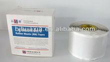 UV resistant black mastic rubber adhesive tape