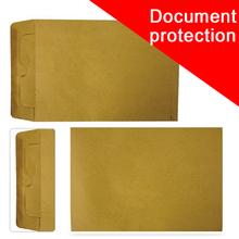 Importazione di carta del mestiere di plastica documento file di protezione sacchetto non. 9 a4 busta grande