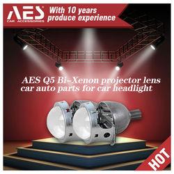 Factory Q5 bixenon HID projector lens H4 projector, universal AES projector for headlights