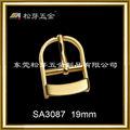 2013 más nuevo estilo pvd chapado en oro de la moda hebilla estribo sa3087 fabricante