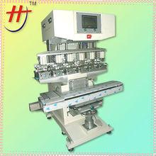 T HP-300FY Ink cup safety helmet 6 color pad printing machine