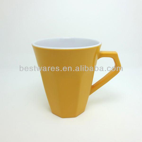 รูปแบบใหม่2013โทนสองถ้วยกาแฟเมลามีน