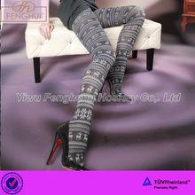 P0240 ladies sexy elegant jacquard pantyhose leggings