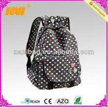 Western style fashion girls travel backpacks