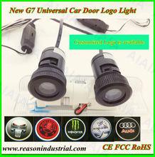 2014custom ghost shadow door light led,12V car led light kit