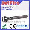 OEM aluminum alloy cree mechanically powered flashlight