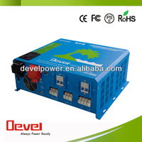 hybrid solar inverter 2000W with battery charger and controller