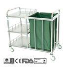 B32 Stainless Steel Hospital Linen Trolley